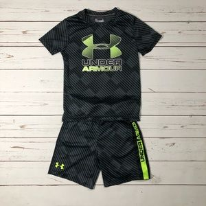 Under Armour Boy's Set T Shirt & Shorts